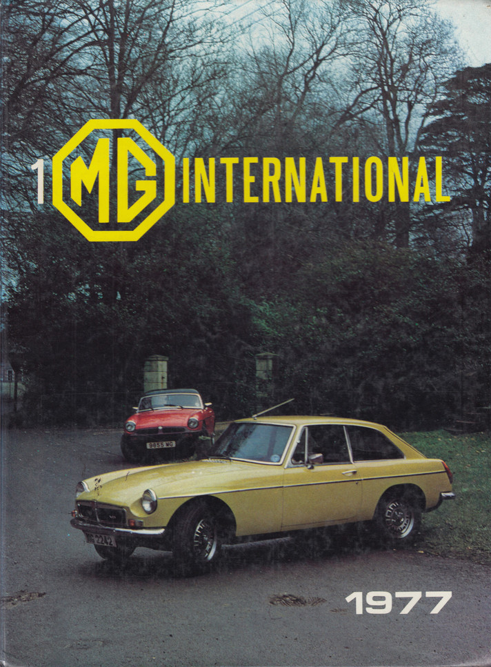 MG International # 1 (Ed.Richard L. Knudsen) 1st Edn. 1977 (B00261P9LQ)