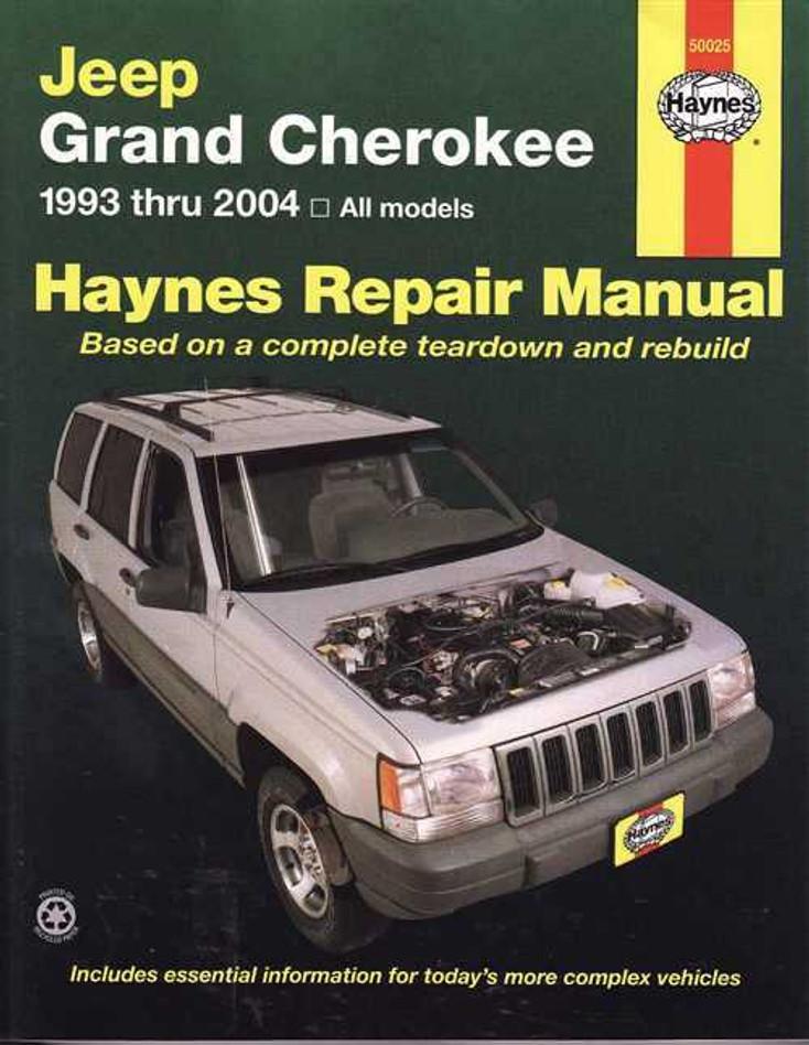 Jeep Grand Cherokee 1993 - 2004 Workshop Manual