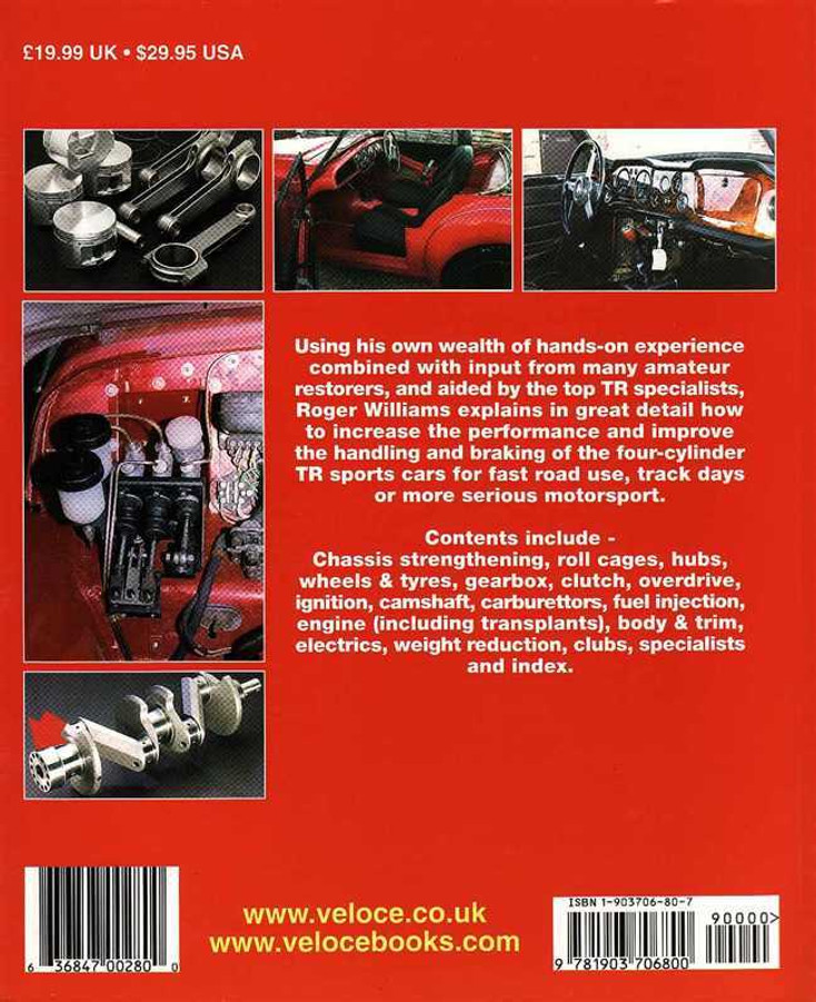 How To Improve Triumph TR2-4A - Updated & Revised Edition