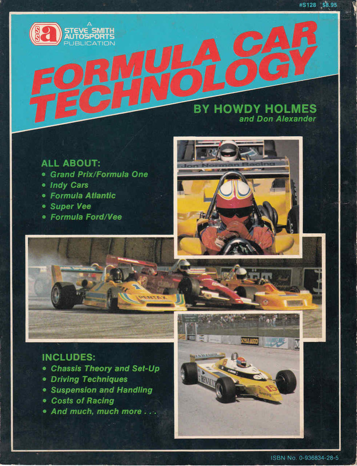 Formula Car Technology (Howdy Holmes) (0936834285) - front