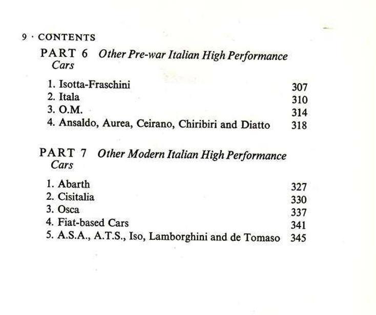 Italian High - Performance Cars