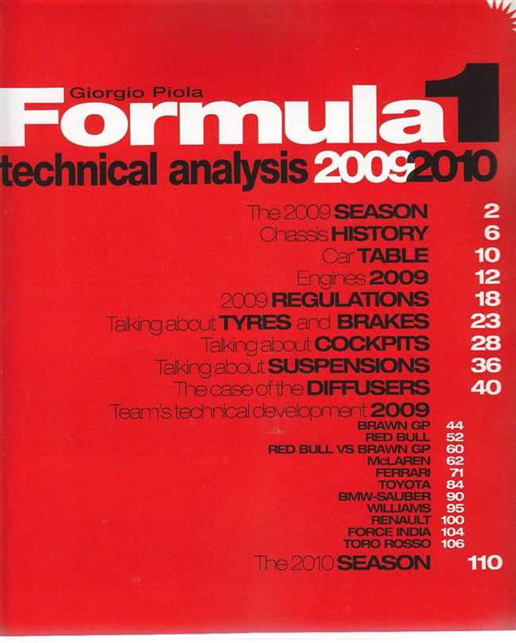 Formula 1 Technical Analysis 2009 - 2010