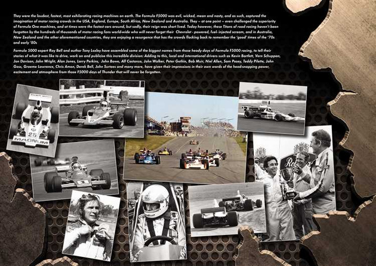 F5000 Thunder: The Titans of Road Racing 1970 - 1981