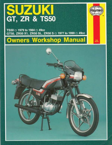 Suzuki Gt Zr Ts50 1979 1990 Workshop Manual