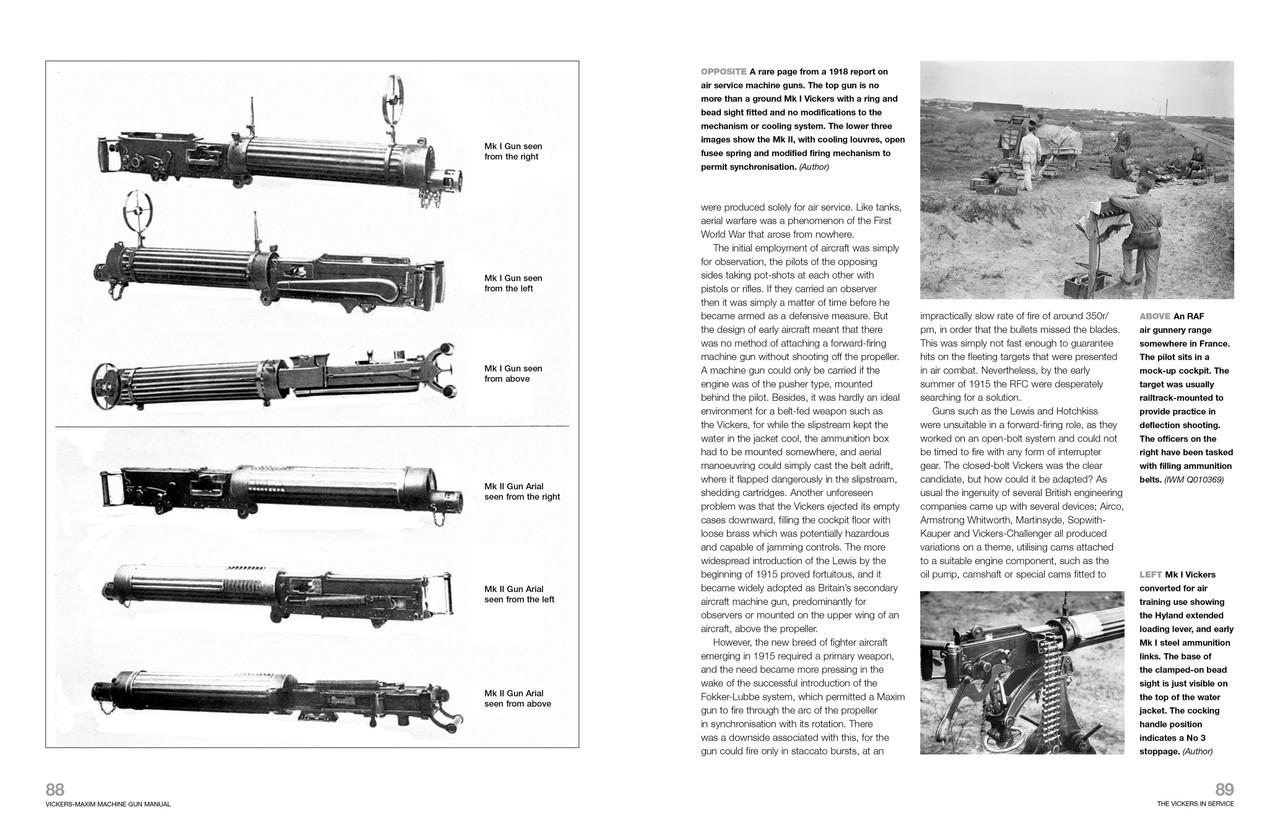 Vickers-Maxim Machine Guns 1886 to 1968 Haynes Enthusiasts