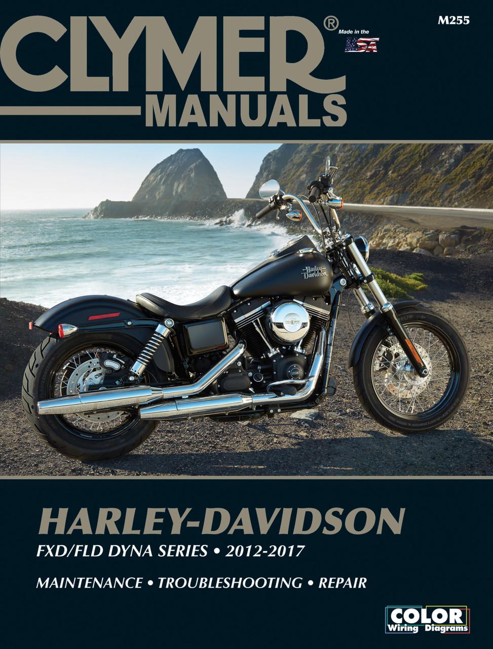 Harley Davidson Fxd Fld Dyna Series 2012 2017 Clymer Repair Manual Ebay