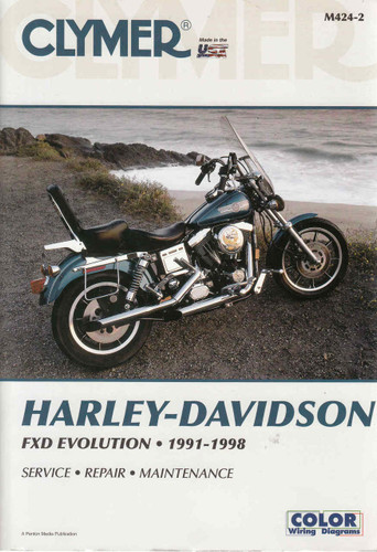 Harley-Davidson FXD Revolution 1991 - 1998 Workshop Manual on