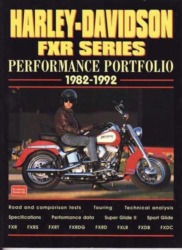 CLYMER 1982-1983 Harley-Davidson FXR Super Glide II REPAIR MANUAL M420