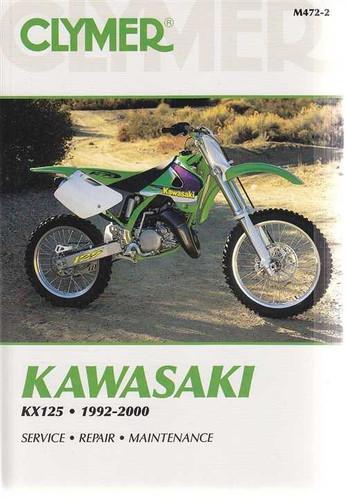 kawasaki kx125 kx250 1982 1991 workshop service repair manua