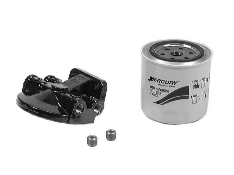 New Mercury Mercruiser Quicksilver Oem Part # 35-802893A 4 Filter Kit-Fuel
