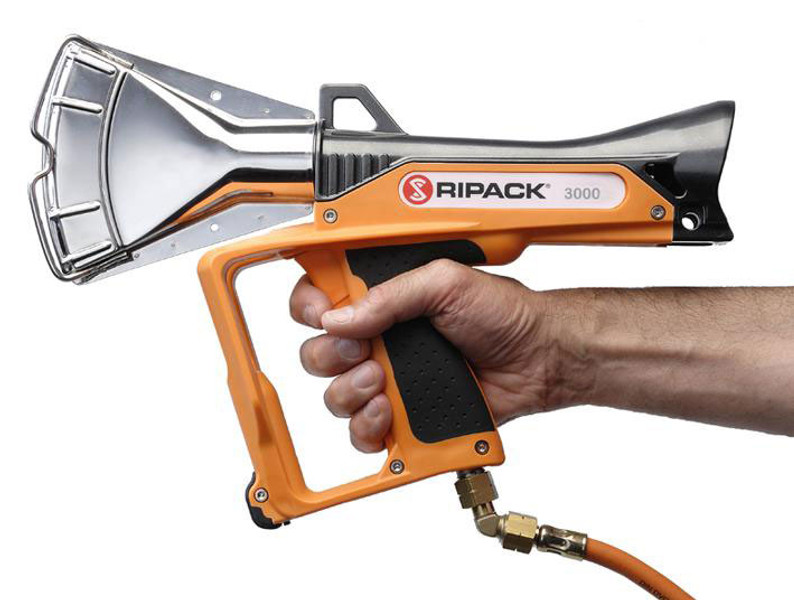 Ripack 3000 Heat Gun Tool Kit Case & Pressure Regulator Shrink Wrap Boat