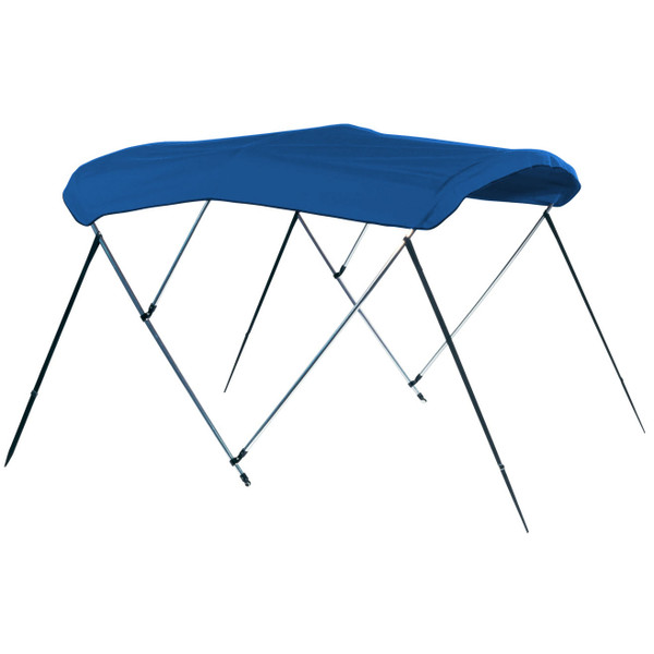 "Carver Covers Assembled 3 Bow Frame & Fabric, 54"" H X 6' L, Sunbrella w/ Boot"