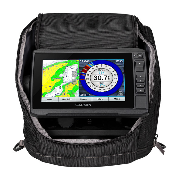 Garmin ECHOMAP Plus 73cv Ice Fishing Bundle w/GT10HN-IF Transducer