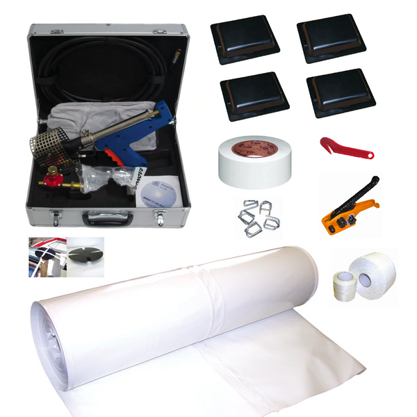 Boat Shrink Wrap Starter Kit - Recreational Boat (Less Than 23 FT, No T-Top)