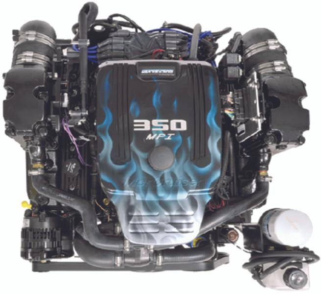 New Quicksilver MerCruiser 350 Mag MPI Alpha 300 HP Engine 8m0136293