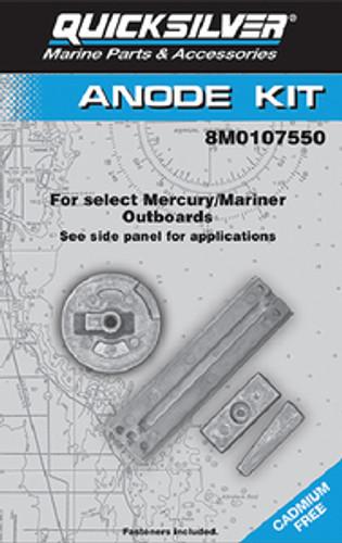 OEM Quicksilver/Mercury Anode Kit O/B   97-8M0107550