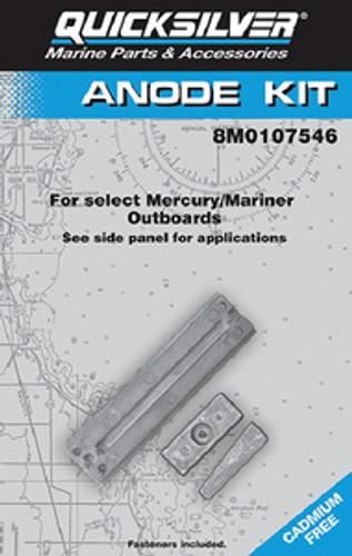 OEM Quicksilver/Mercury Anode Kit O/B  97-8M0107546