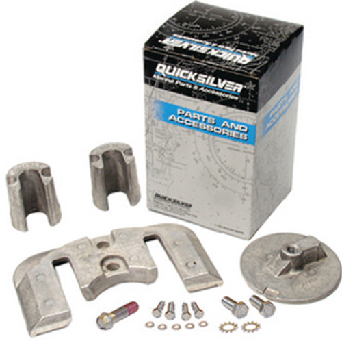 OEM Quicksilver/Mercury Anode Kit- Bravo 2 -Magnesium  97-888760Q03