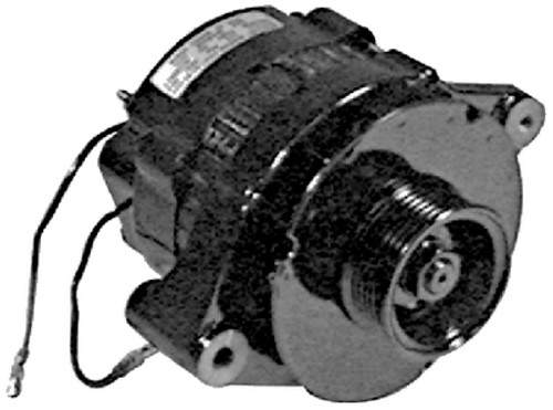 OEM Quicksilver/Mercury 55 Amp Alternator  817119A 4