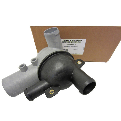 OEM MerCruiser Water Distribution Housing (3 & 7 Point Drain - Standard Cooling) 863631t1