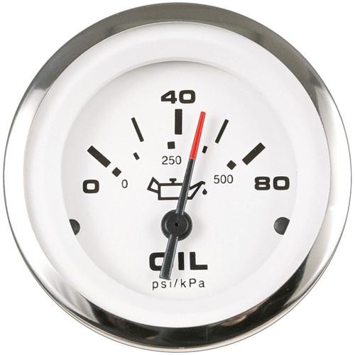 Sierra Lido 3 Oil Pressure 0-80Psi 65501P