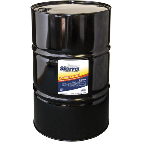 Sierra Gear Lube-Hi Perf Syn/Bl 55Gal 18-9650-7