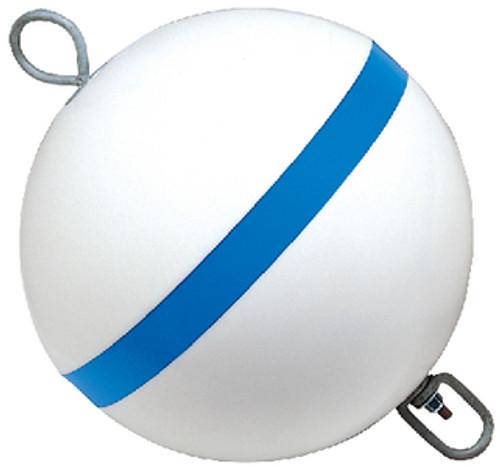 Taylor 12 Round Mooring Buoy Blue/White 22170