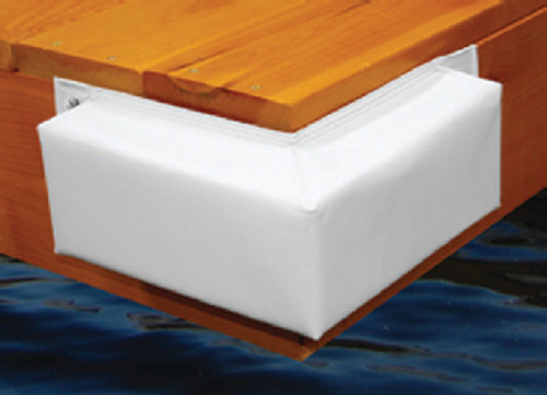 Taylor Bumper Vinyl Corner Dock White 345