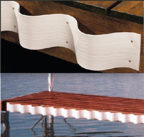 Taylor Wave Dock Edge White 1/4Inx5Inx2 46069