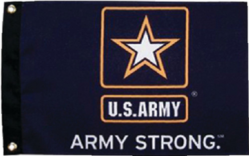 Taylor Flag 12X18 Army Strong 1620