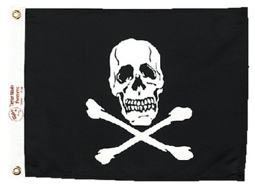 Taylor Flag Jolly Roger 12X18 1818