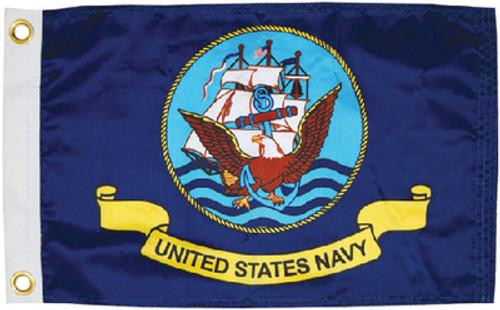 Taylor Flag Navy 12X18 5621