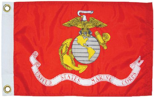 Taylor Flag Us Marines 12X18 5623