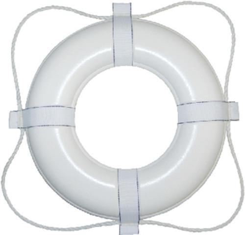Taylor 24In White Foam Ring Buoy 361
