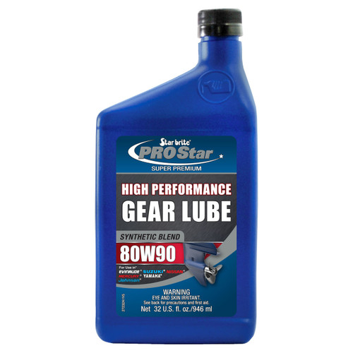 Starbrite Synthetic 80W90 Gear Lube 32Oz 27232