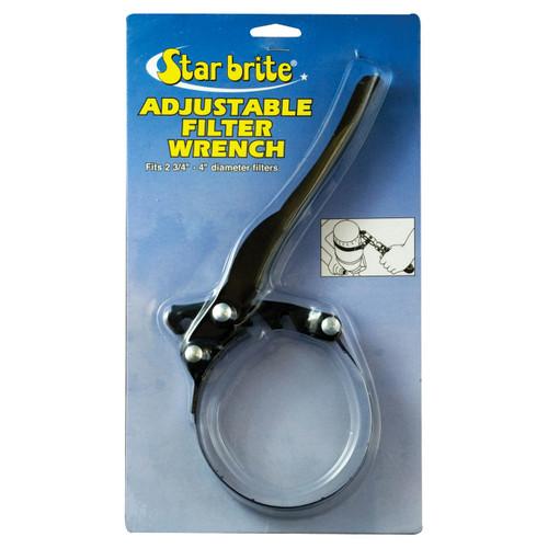 Starbrite Wrench-Adj Filter 2.75In-4In 28908