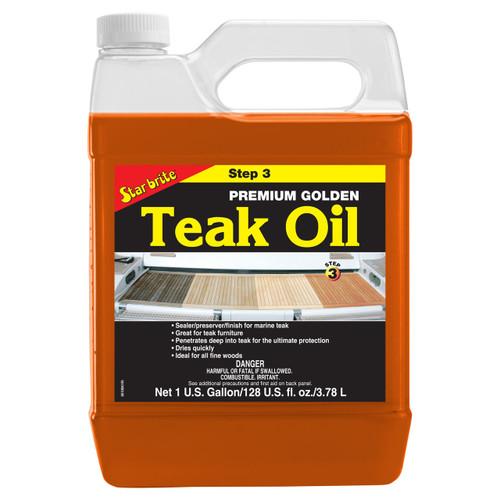 Starbrite Premium Golden Teak Oil Gallo 85100