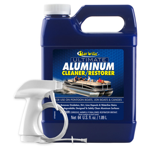 Starbrite Ultimate Aluminum Clean/Restor 64Oz 87764