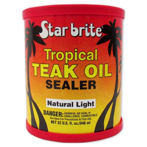 Starbrite Tropical Teak Sealer Light Pint 87916