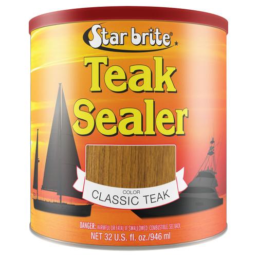 Starbrite Tropical Teak Sealer Dark Quart 88032