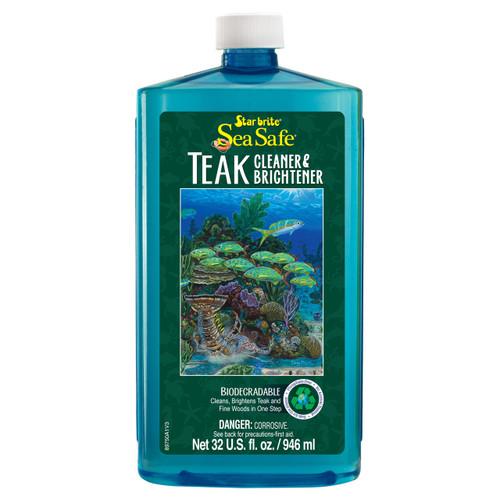 Starbrite Sea-Safe Teak Cleaner/Brightener 32 Oz. 089750P
