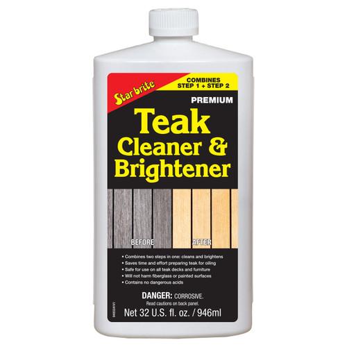 Starbrite Teak Cleaner & Brightener 32Oz 94932