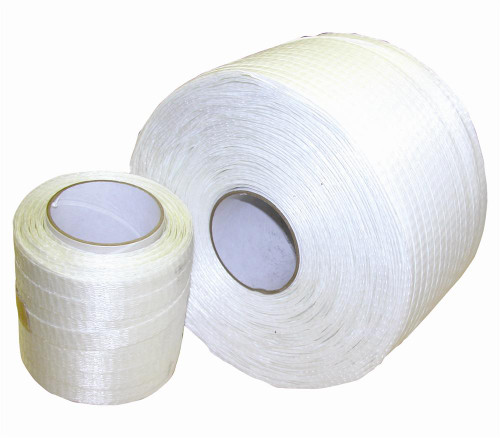 "Woven Shrink Wrap Cord Strapping 1/2"" x 1500' DS-50015 PD40TCW"