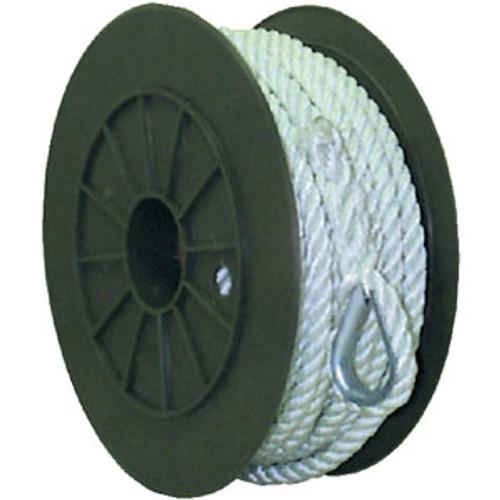 "Seachoice Nylon Anchor Line White 1/2"" x 100' 40731"