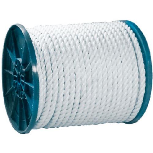 Seachoice Twisted Nylon Rope White 1/4 x 600 40790