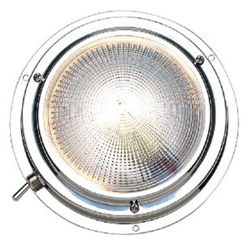 Seachoice Red/White Dome Light - 4 6641
