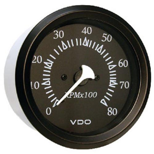 Seachoice 8000Rpm Tach Outboard Black/Black 50-15251