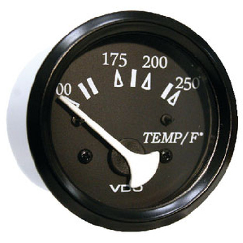 Seachoice 250F Engine Temp Gage Black/Black 50-15291