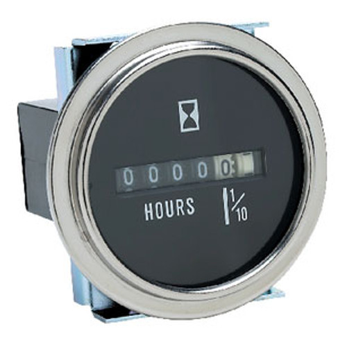 Seachoice Hour Meter Chrome Bezel 15301