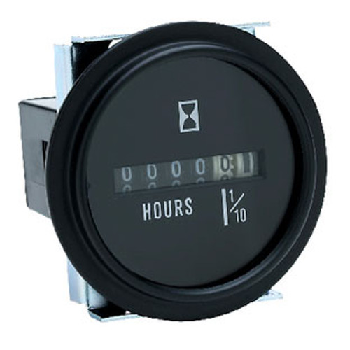Seachoice Hour Meter Black Bezel 15311